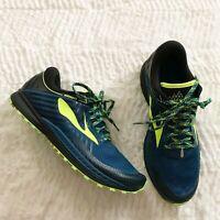 Brooks Mens Mazama 2 Blue/Black/Nightlife Running Shoes Size 8D