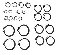 NEW 20 x Assorted External circlips 4 each of 6mm, 8mm,10mm,11mm,12mm. UK SELLER