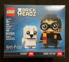 LEGO BrickHeadz Harry Potter & Hedwig 41615 Wizarding World Retired Rare NEW