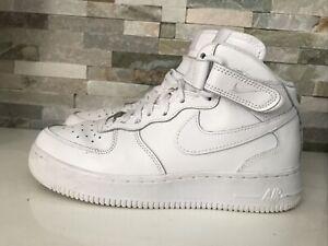 Nike Air Damen Sneaker Freizeitschuhe Schnürschuhe Weiß Gr.:38,5 Top