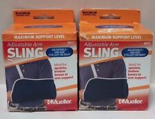 2 Pack Mueller Adjustable Arm Sling Maximum Support Level 6911