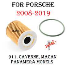 Porsche Engine Oil Filter With O-ring Kit For 08-19 911, Cayenne,Macan,Panamera
