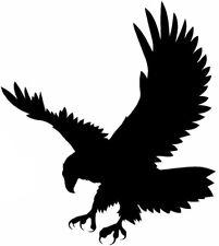 Coche grande Bonnet tribal Hawk Eagle atacar garras Gráfico de vinilo pegatina pared VW