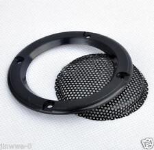 "2pcs 2"" inch 1# Speaker Grille Metal Mesh Decorative Circle Tweeter Audio Cover"
