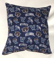 Villanova Pillow WildCats Pillow Basket Ball Pillow NCAA HANDMADE In USA
