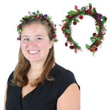 NEW TINSEL GARLAND CHRISTMAS HEADBAND Party Supplies