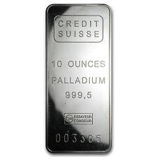 10 oz Palladium Bar - Secondary Market - SKU #61606