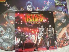 """Kiss – """"Inferno""""   Double Picture Disc Live LP Cult Legend Recordings – CLR 06"""