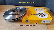 NATIONAL SINGLE BRAKE DISK FRONT AXLE FOR FIAT CROMA 1.9 2.2 2005/2007 NDB1168
