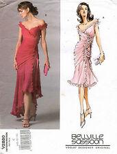 VOGUE Designer Orig. Misses' Dress Bellville Sassoon  Pattern V2880 10-14 UNCUT