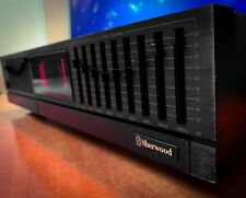 SHERWOOD EQ-1350 Dark Vintage Stereo Graphic Equalizer