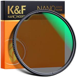 K&F Concept Nano X Circular Polarizer Lens CPL Filter 49 52 58 62 67 72 77 82mm