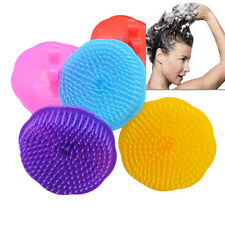 Silicone Magic Hot Soft Head Massager Shampoo Shower Brush Health Care Brush HE