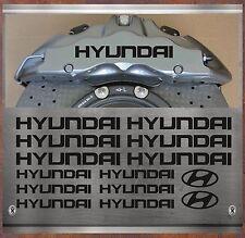 14 Stück Hyundai Bremssattel Aufkleber Sticker Hitzebeständige i10 i20 i30 i40