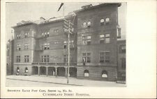 Brooklyn Eagle Postcard Series #82 c1905 CUMBERLAND ST. HOSPITAL