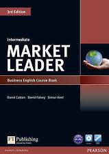 Market Leader 3rd Edition Intermediate Coursebook & DVD-Rom Pack by David Falvey, Simon Kent, David Cotton (Mixed media product, 2010)