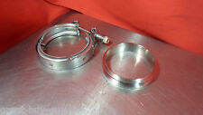 GENUINE PRECISION TURBO  V-Band Clamp & 304 Stainless Flange 6266 T4