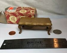 1:12 Town Square Miniature Furniture Walnut Victorian Living Room Table #S