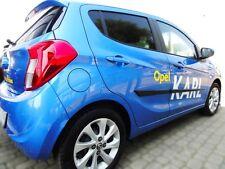 Zierleiste Seitenschutz Türschutz für Opel Karl Hatchback 5-Türer 2015-