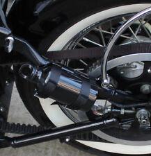 Borraccia + Supporto Harley Davidson Softail spinger -2007/LATO SINISTRO BLACK