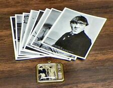 Three Stooges Sticker Set & Tv Charm