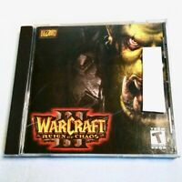 WarCraft III 3 Reign Of Chaos PC CD-ROM Game Mac Windows 98/ME/2000/XP