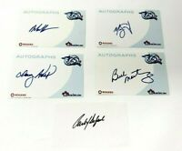 Toronto Blue Jays 25th Season MLB Autographs Lot 2001 Rogers