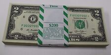 Uncirculated 2013 Two Dollar Star Notes FRB Atlanta $2 Bills Low 640 K Produced