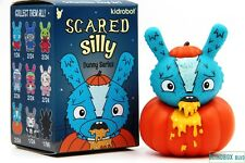 """Kidrobot Scared Silly Dunny Series - """"Pumpkin Puker"""" by The Bots (3"""")"""