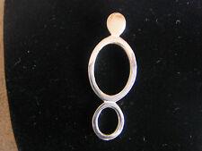 Sterling Silver Pendant Sterling 925 Hallmarked SU 925