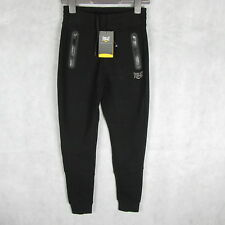 New! Stunning! Everlast Sport Pants Tracksuit Bottom Size S(8) Black - Gym Wear