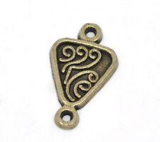 Un PACCO DI 20 antiqued Bronze Connettori - 21 x 12 mm............. f659 *