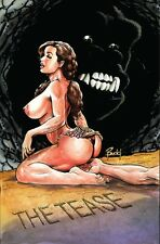 CAVEWOMAN INTERNET EXCLUSIVE - THE TEASE - Sgn/Num Ltd to 400 - Nude (From Yeti)