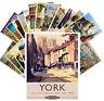 Postcards Pack [24 cards] British Railways Vintage Travel Posters CC1118