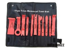11pcs Car Door Trim Panel Molding Clip Retainer Remover Removal Pry Tool Kit Set