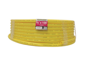 Underground Gas Pipe 1/2 in. x 100 ft. Long Lasting Polyethylene Yellow