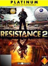 Resistance 2 -- Platinum Edition (Sony PlayStation 3, 2009)