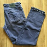 Versace Jeans Purple Colored Denim Jeans Regular Fit 36 X 33 ITALY
