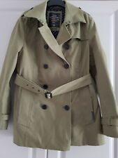 Ladies Superdry Trench Style Coat Large