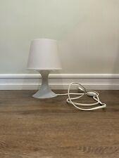 Ikea Lampan Solid White Plastic Lamp