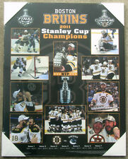 Boston Bruins 2011 Stanley Cup Championship Picture Plaque