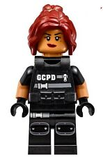 Lego The Batman Movie Barbara Gordon SWAT Minifigure(only)Split From 70908 NEW