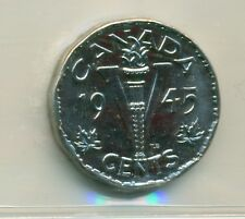 ICCS Canada 5 cents 1945 MS-65 NN 546
