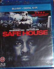 Blu Ray film Denzil Washington Safe House , new and unused