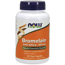 Bromelain 120 Vcaps 2400GDU/500 mg by Now Foods