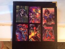 """MARVEL COMICS CARDS FLAIR LOT/6 1994 """"PUNISHER CABLE THANOS THOR DEADPOOL RAVAGE"""