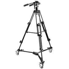 walimex pro EI-9901 Video-Pro-Stativ 138cm with spider, panhead + tripod dolly