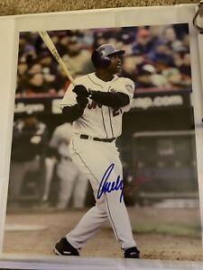 Carlos Delgado New York Mets Signed Auto 8x10 Photo