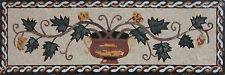 Yellow Floral Arbor Vase Flower Garden Marble Mosaic Fl851