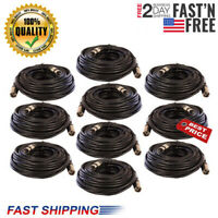 25 FT FOOT XLR 3 Pin Male Female MIC microphone Shielded Audio Cable Cord 10Pack